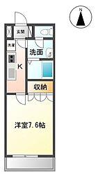 香川県丸亀市土器町東7の賃貸マンションの間取り