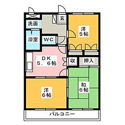ディスカバリー柿田II[2階]の間取り