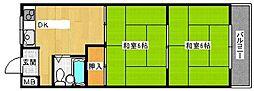 仁田マンション[3階]の間取り