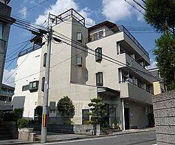 京都府京都市左京区山端川端町の賃貸マンションの外観