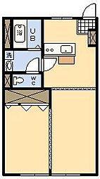 金丸ビル[402号室]の間取り