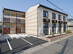 埼玉県さいたま市見沼区島町の賃貸アパートの外観