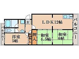 KORIN[2階]の間取り