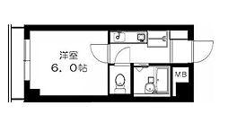 ピースフルハウス[4階]の間取り