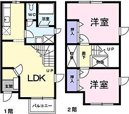 メゾンド湘南深沢[1階]の間取り