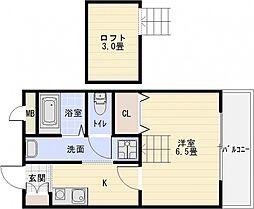 パブリックマンション2[3階]の間取り