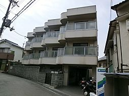 大阪府高槻市真上町3丁目の賃貸マンションの外観