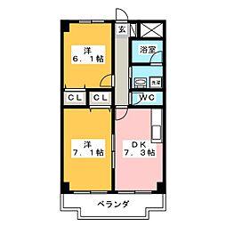 テックハウジング14[2階]の間取り