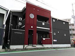 福岡県福岡市東区唐原7丁目の賃貸アパートの外観