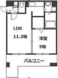 M'stage[505号室]の間取り