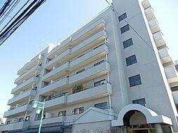 調布セントラルアパート[7階]の外観