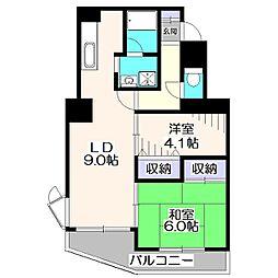 ストークマンション[2階]の間取り