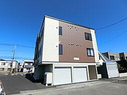 札幌市営東西線 大谷地駅 徒歩15分の賃貸アパート
