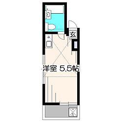 フローラル・コーポ柳沢[2階]の間取り