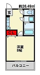 PLACE21[2階]の間取り