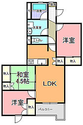 コーキマンション K−2[103号室]の間取り