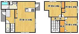 [一戸建] 佐賀県三養基郡上峰町大字坊所 の賃貸【/】の間取り