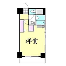 ライオンズマンション上本町第三[210号室]の間取り