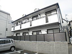 兵庫県芦屋市南宮町の賃貸アパートの外観