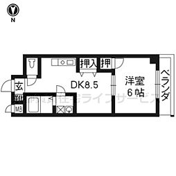 アビヨン21[502号室]の間取り