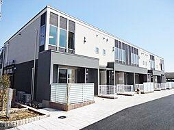 神奈川県茅ヶ崎市菱沼1丁目の賃貸アパートの外観