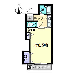 AXIA-SHIDO〜アクシアシド〜[2-507号室]の間取り
