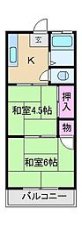 鈴木マンション[4階]の間取り