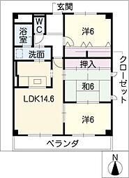 KREIS[2階]の間取り