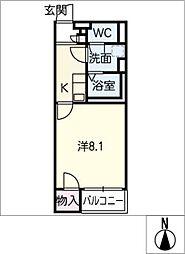 クレイノグローリー II[2階]の間取り