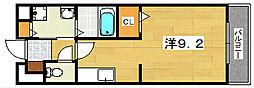 バンブーフォレスト[2階]の間取り