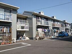 岡山県倉敷市田ノ上新町の賃貸アパートの外観