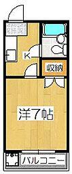 リトルハイツ[3階]の間取り