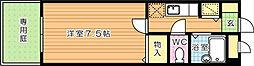 トーカンマンション八千代[1階]の間取り