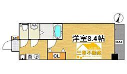 新築 パララックス学研都市駅[3階]の間取り