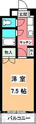 ジョイフル第1朝生田[4階]の間取り