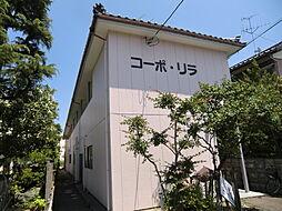新潟県新潟市中央区米山の賃貸アパートの外観