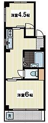 小林マンション[3階]の間取り