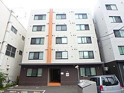 北海道札幌市東区北八条東1丁目の賃貸マンションの外観