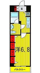 Log浅草[7階]の間取り