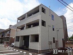 愛知県豊田市美山町2丁目の賃貸アパートの外観