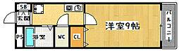フォレスト醍醐[323号室]の間取り