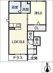 仮)D−room京和風穂波町I[1階]の間取り