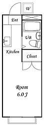コタ&モクハウス[1階]の間取り