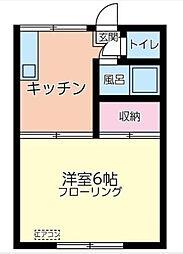 松竹荘[2階号室]の間取り
