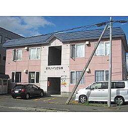 桜木ハイツ2号棟[2階]の外観