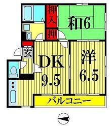 亀戸ハウス[1階]の間取り
