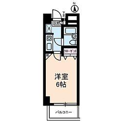 ベルメゾン川崎I[3階]の間取り
