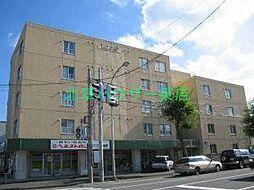北海道札幌市東区北二十五条東7丁目の賃貸マンションの外観