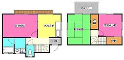 [一戸建] 埼玉県所沢市大字松郷 の賃貸【/】の間取り
