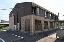 新潟県新発田市大栄町6丁目の賃貸アパートの外観